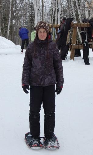 snowshoeing in Arrowhead Procincial Park