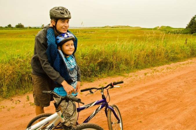 biking at Prince Edward Isalnd