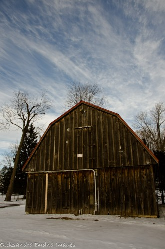 barn in waterloo park