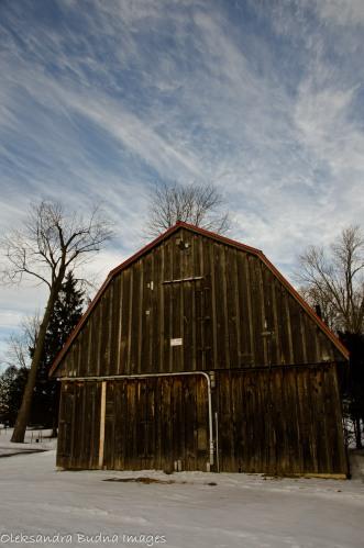barn in waterloo park