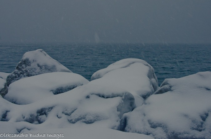 Lake Ontario in the winter