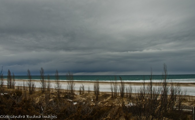 Lake Huron in the winter, Pinery Provincial Park