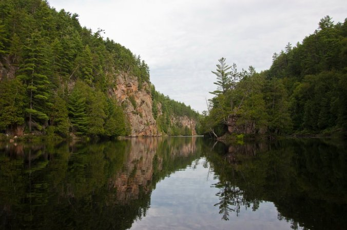 barron canyon in algonquin