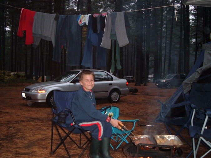 campsite at Lake of Two Rivers
