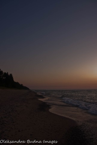evening at Twelvemile Beach at Pictured Rocks National Lakeshore