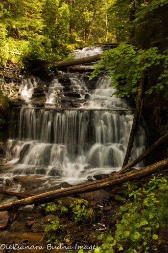 Wagner Falls in Upper Peninsula Michigan