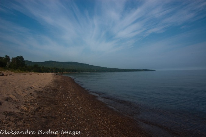 Lake Superior at Porcupine Mountains