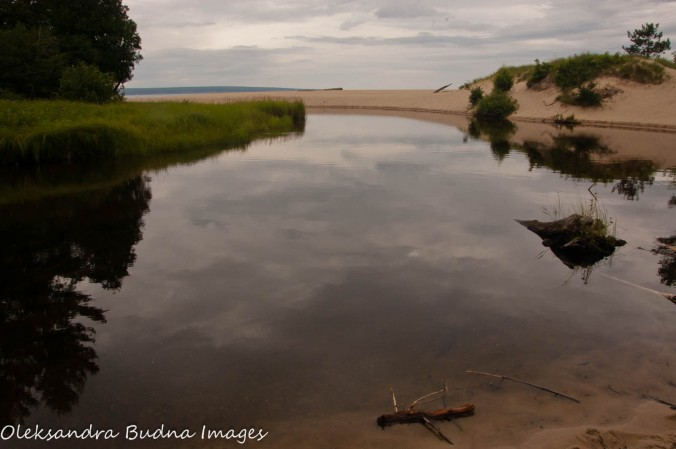 Miners River and Beach at Pictured Rocks National Lakeshore