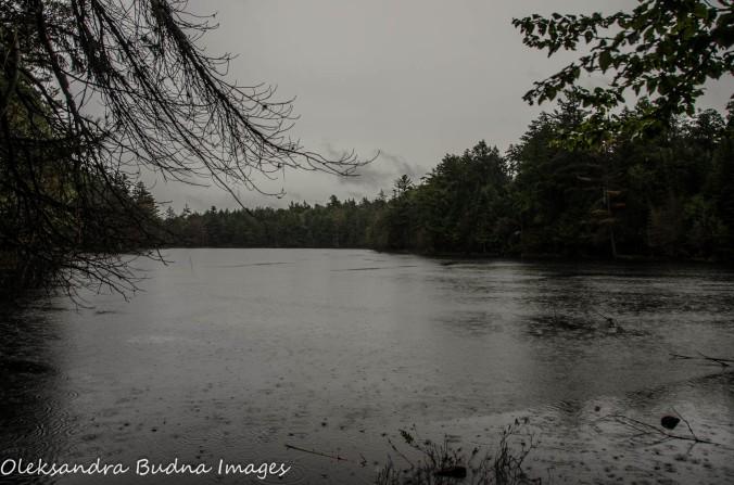 Ramona Lake in Algonquin Provincial park