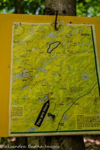 Western Uplands Backpacking Trail Map - Loop 1