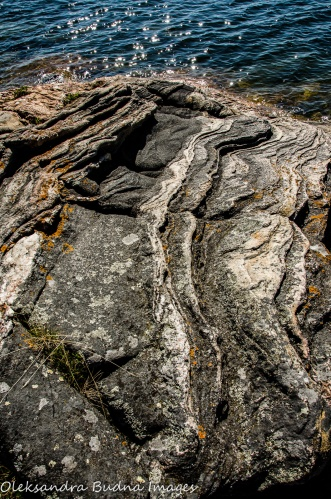rocks at Killbear Provincial Park