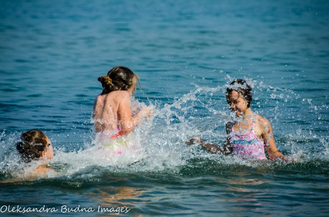 water fun at Pinery Provincial Park