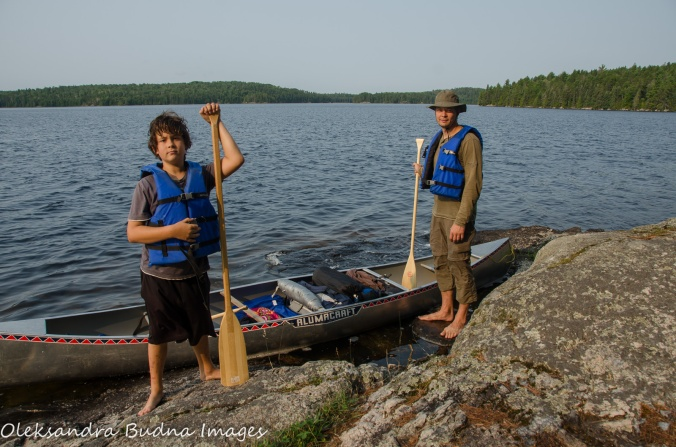 backcountry canoeing inQuetico