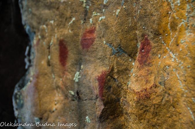 pictographs in Quetico