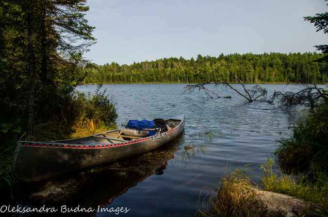 unnamed lake at Quetico