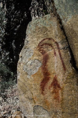 pictographs in Quetico
