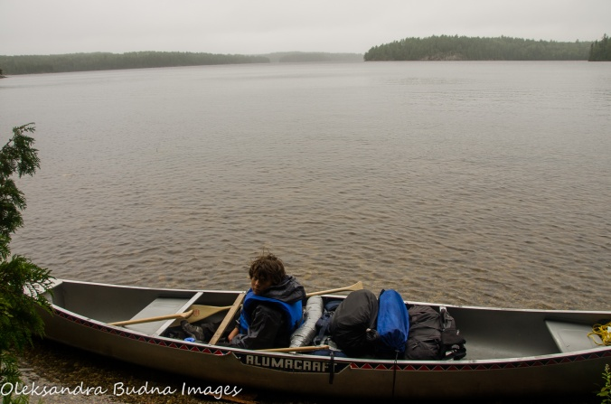 canoeing in Quetico