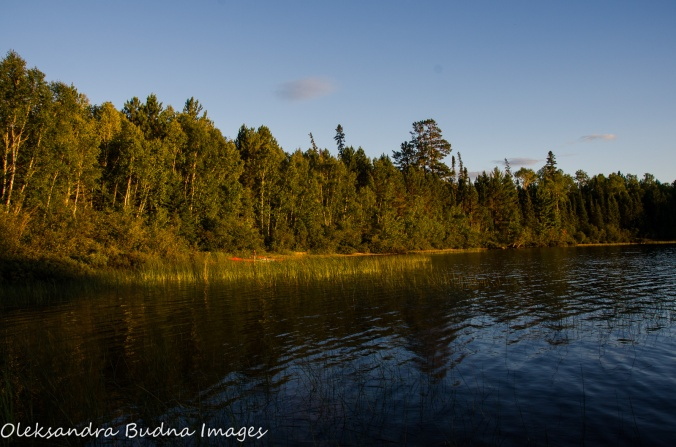 French Lake at Quetico