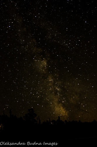 milky way at Quetico Provincial Park