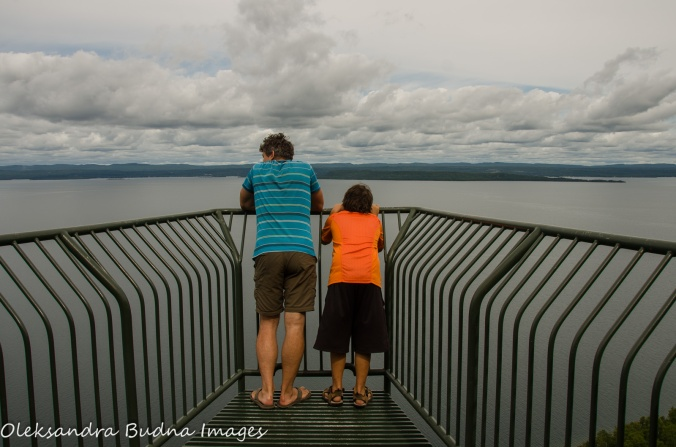 Thunder bay lookout at Sleeping Giant