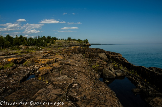 View of Lake Superior at Sleeping Giant
