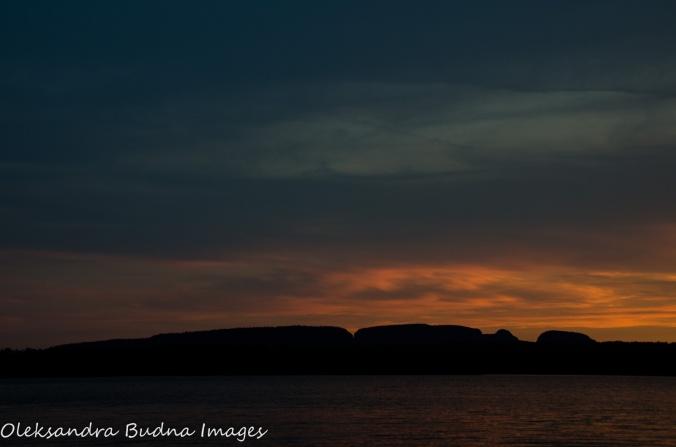 Sunset over Sleeping Giant