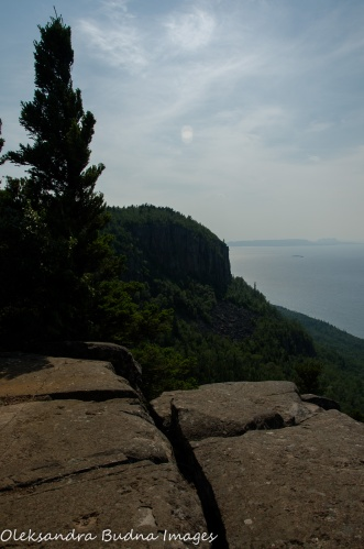 view from Head of the Giant at Sleeping Giant