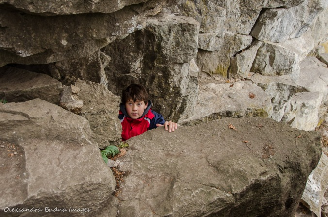 climbing at rattlesnake point