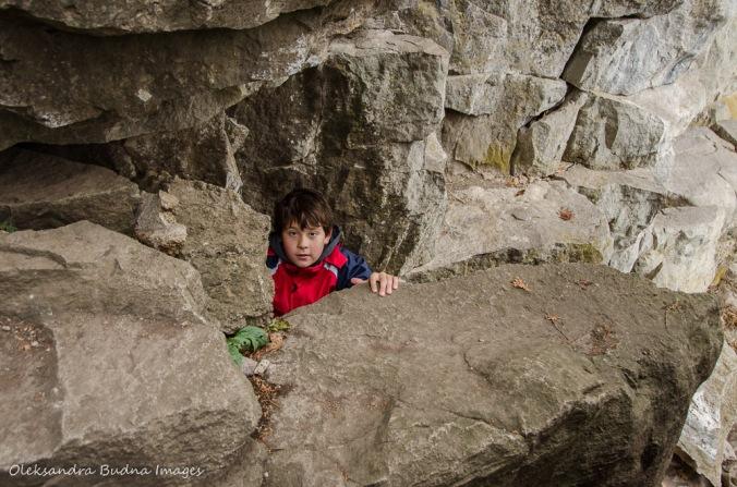 climbing at rattlesnake point