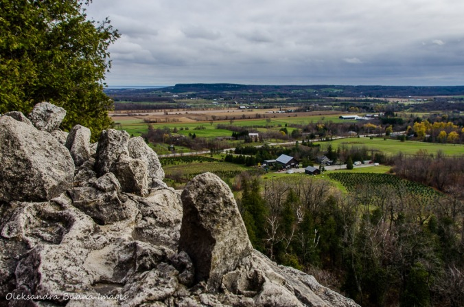View from Nelso Lookout at Rattlesnake Point