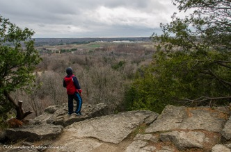 view of Nassagaweya Canyon at Rattlesnake Point