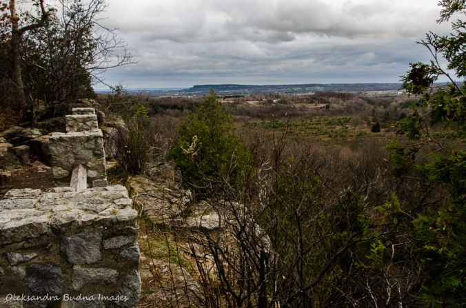 view from Buffalo Crag Lookout at Rattlesnake Point
