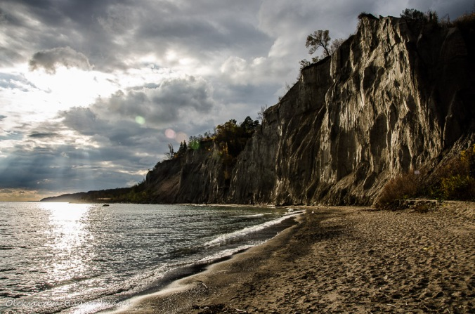 Scarborough Bluffs in Toronto