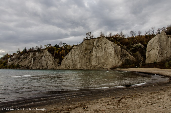 Scarborough Bluffs in Toronto Bluffer's Park