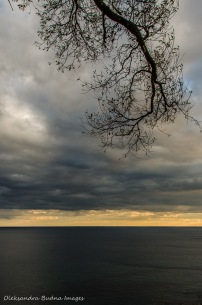 Lake Ontario from the top of Scarborough Bluffs