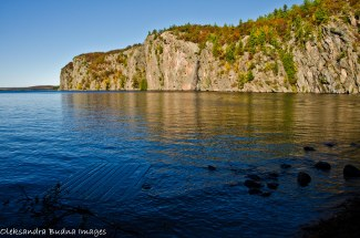 Mazinaw Rock in Bon Echo