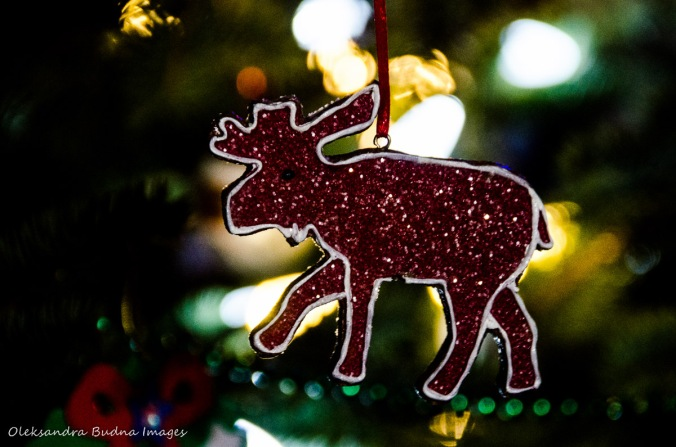 moose Christmas decoration