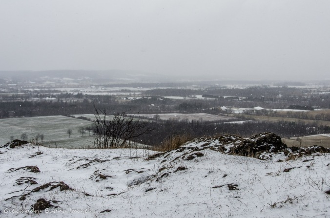 view from Mount Nemo in Halton