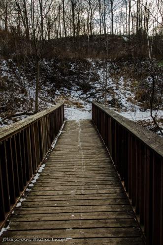 bridge over Massey Creek in Toronto
