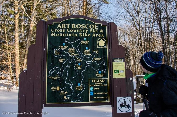 Art Roscoe map