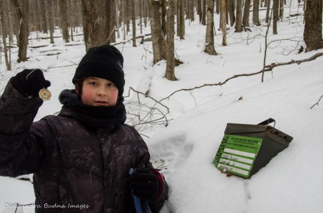 geocaching in Allegany State Park