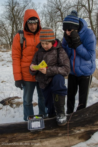 geocaching at Crawford Lake Conservation Area
