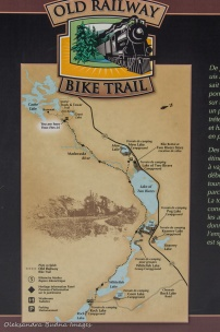 Old Railroad bike trail map