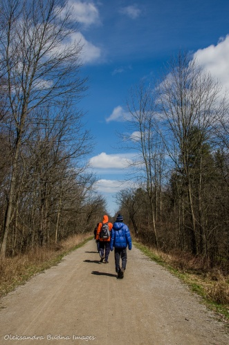 Hamilton to Brantford trail at Dundas Valley Conservation Area