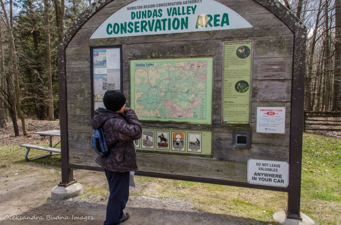 Dundas Valley Conservation Area map