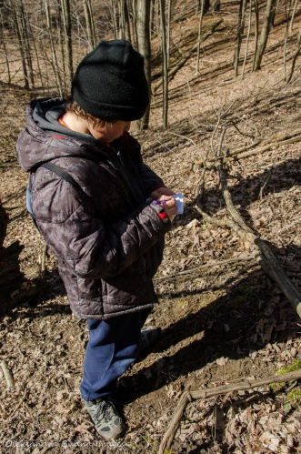 geocaching at Dundas Valley Conservation Area
