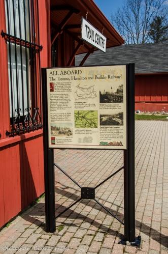 information sign near Dundas Valley Trail centre
