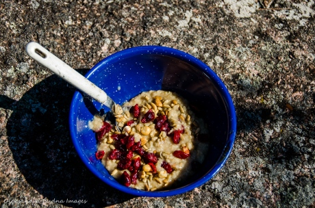 camping oatmeal