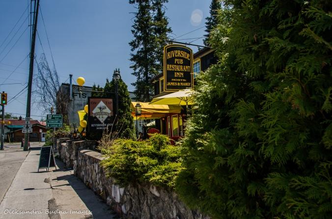 Riverside pub att Norland