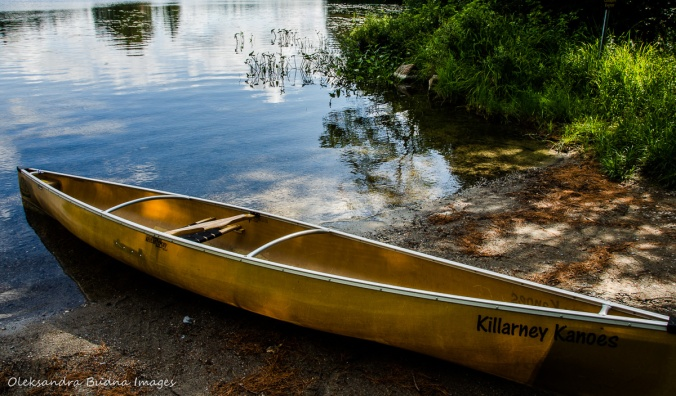 solo canoe Souris River Tranquility